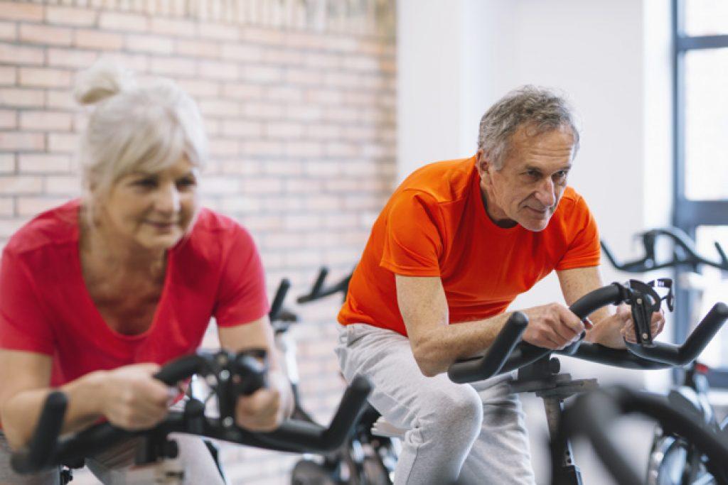 Motionscykel til ældre
