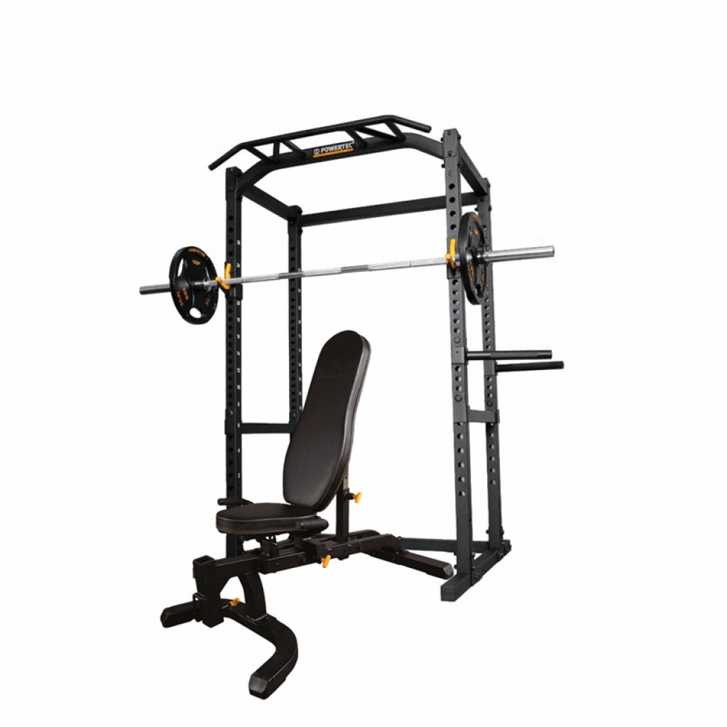 Powertec squat rack